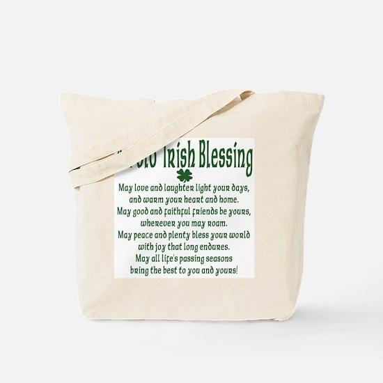 Old irish Blessing Tote Bag