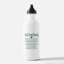 Old irish Blessing Water Bottle