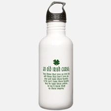 An Old irish curse Water Bottle