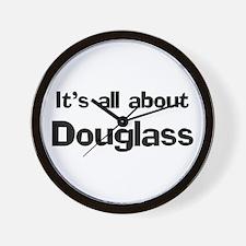 It's all about Douglass Wall Clock