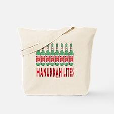 Hanukkah Lights Tote Bag
