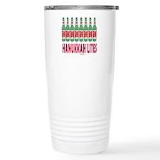 Hanukkah Lights Travel Mug