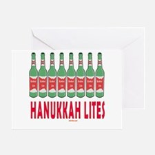 Hanukkah Lights Greeting Card