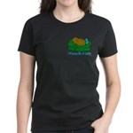 Couch Potato Hanukkah Women's Dark T-Shirt