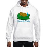 Couch Potato Hanukkah Hooded Sweatshirt