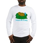 Couch Potato Hanukkah Long Sleeve T-Shirt