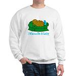 Couch Potato Hanukkah Sweatshirt