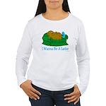 Couch Potato Hanukkah Women's Long Sleeve T-Shirt