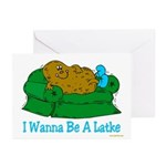 Couch Potato Hanukkah Greeting Cards (Pk of 10)