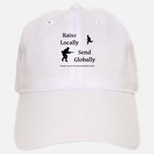 Raise & Send Baseball Baseball Cap
