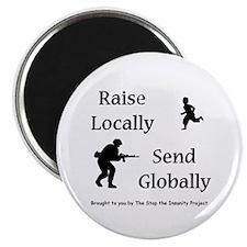"Raise & Send 2.25"" Magnet (100 pack)"