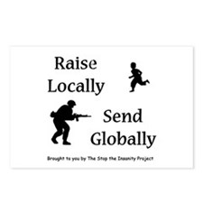Raise & Send Postcards (Package of 8)