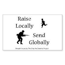 Raise & Send Decal