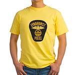 Lyndhurst Police Yellow T-Shirt
