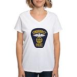 Lyndhurst Police Women's V-Neck T-Shirt