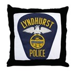 Lyndhurst Police Throw Pillow