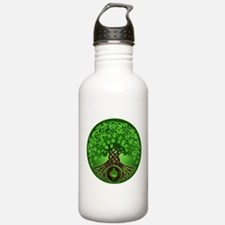 Circle Celtic Tree of Life Water Bottle