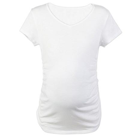 Born Again Atheist Maternity T-Shirt