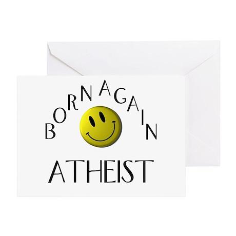 Born Again Atheist Greeting Card
