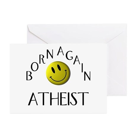 Born Again Atheist Greeting Cards (Pk of 20)