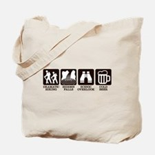 Dramatic Hiking Tote Bag