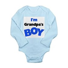 I'm Grandpa's Boy Baby Suit