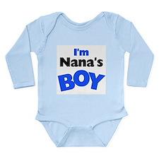 I'm Nana's Boy Long Sleeve Infant Bodysuit
