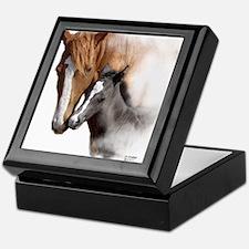 Mare & Foal Mothers Love Keepsake Box
