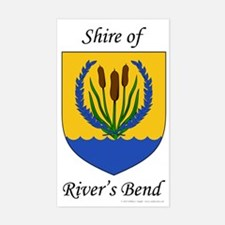 River's Bend Sticker (Rectangle)