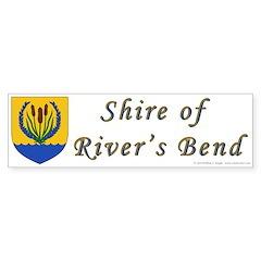 River's Bend Bumper Sticker