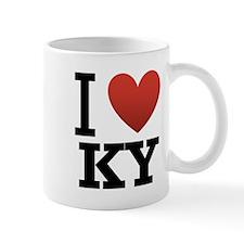 I Love KY Small Mug