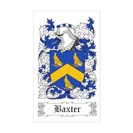 Baxter [English] Sticker (Rectangle)