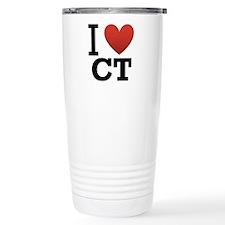 I Love CT Travel Mug