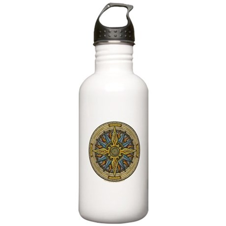 Celtic Compass Stainless Water Bottle 1.0L