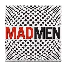Mad Men Pop Art Tile Coaster