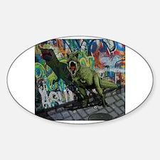 Magic city Sticker (Oval)