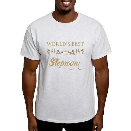 Elegant World's Best Step Mom Light T-Shirt