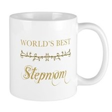 Elegant World's Best Step Mom Mug
