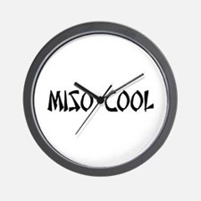 Miso Cool Wall Clock