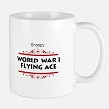 Flying Ace Dodging Bullets Small Mugs