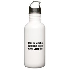 1st Chair Oboe Player Water Bottle