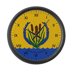 River's Bend Large Wall Clock