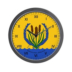 River's Bend Wall Clock
