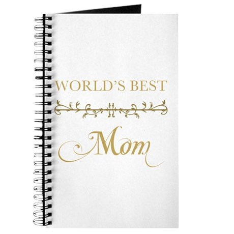 Elegant World's Best Mom Journal