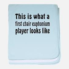 Euphonium baby blanket
