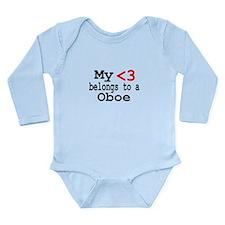 Heart Belongs to... Long Sleeve Infant Bodysuit