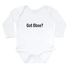 Got Oboe? Long Sleeve Infant Bodysuit