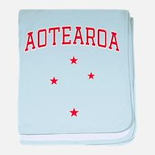 Aotearoa baby blanket