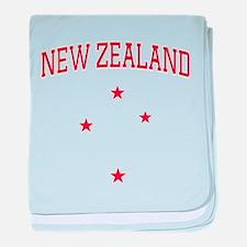 Zealand baby blanket