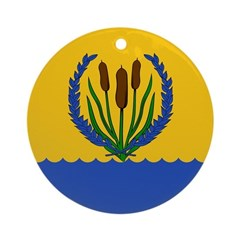 River's Bend Ornament (Round)